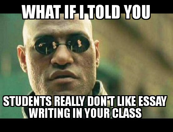 2 Reasons Students Hate Writing For You