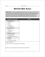 Revision Read Aloud Guide